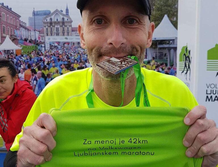 22. Ljubljanski maraton Roman Brcar