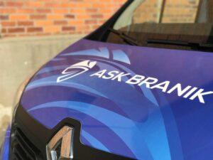 AS klub Branik - Grafika za vozilo