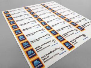 Hofer - Nalepke za industrijsko označevanje