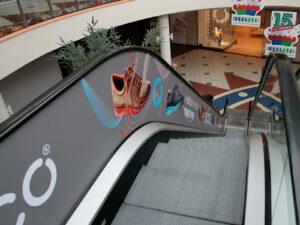 Media Publikum - Tekoce stopnice ECCO Europark