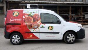 Perutnina Ptuj - Grafika za vozilo Gurman