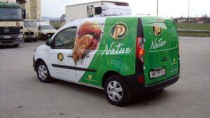 Perutnina Ptuj - Grafika za vozilo Natur