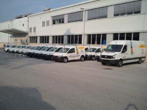 Pošta Slovenije - Grafike za vozila 2013
