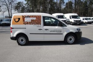 Pošta Slovenije - Grafike za vozila 2014