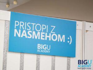 BigU Akademija - BigUP oprema dogodka