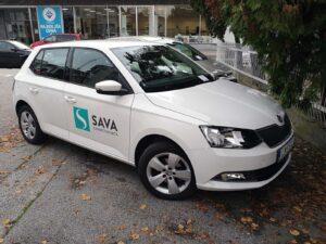 Zavarovalnica Sava - polepitev voznega parka