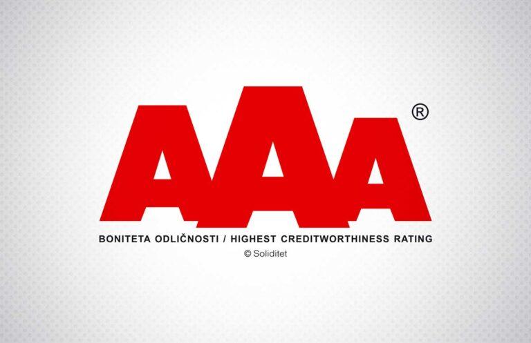 Boniteta odličnosti AAA