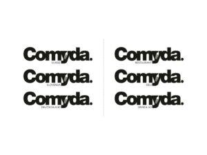 Celostna grafična podoba restavracij Comyda