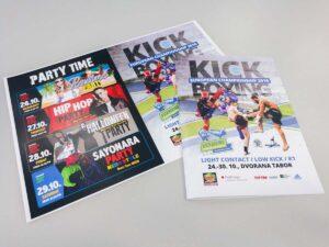 Promocijski izdelki za evropsko prvenstvo v kick boksu Maribor