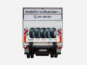 Grafika nalepke za tovorno vozilo - Goodyear