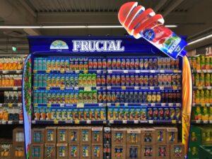 Graphische Ausrüstung für Verkaufsregale - Fructal
