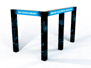 Grafična oprema prodajne točke Hervis