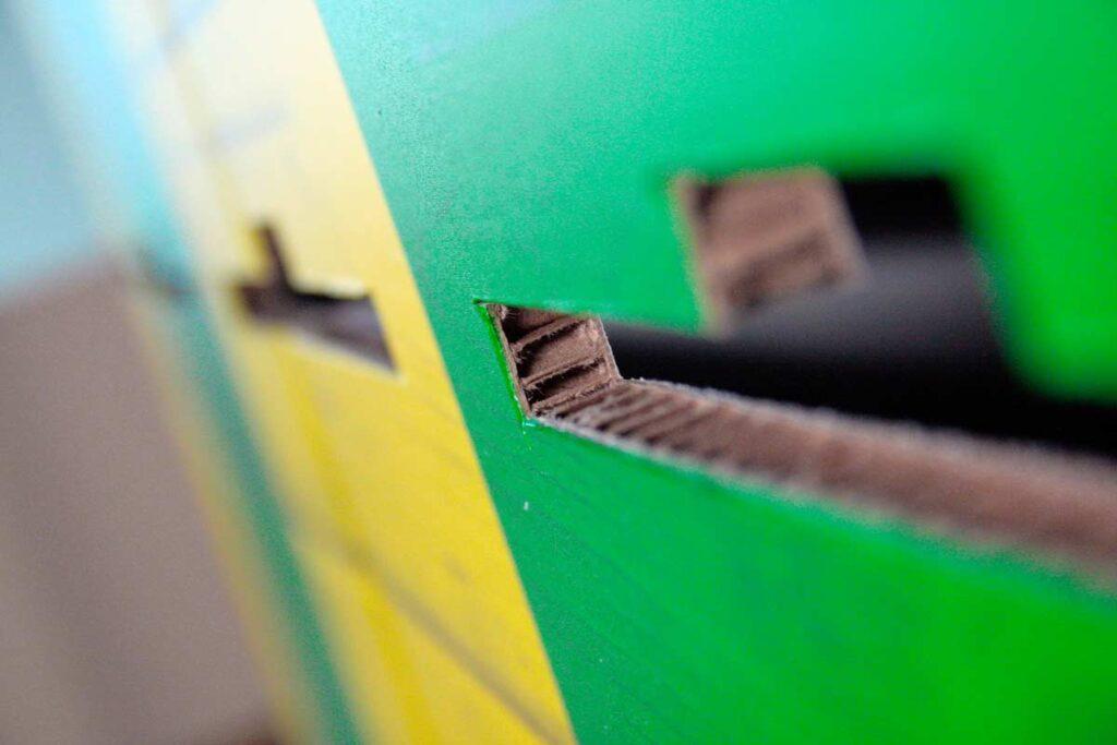 Linija zelenih izdelkov - x-board material