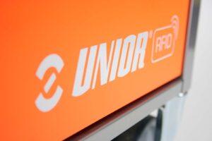 Trolley Aufkleber Unior