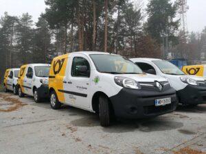 Grafiken für Fahrzeuge - Renault Kangoo - Pošta Slovenije