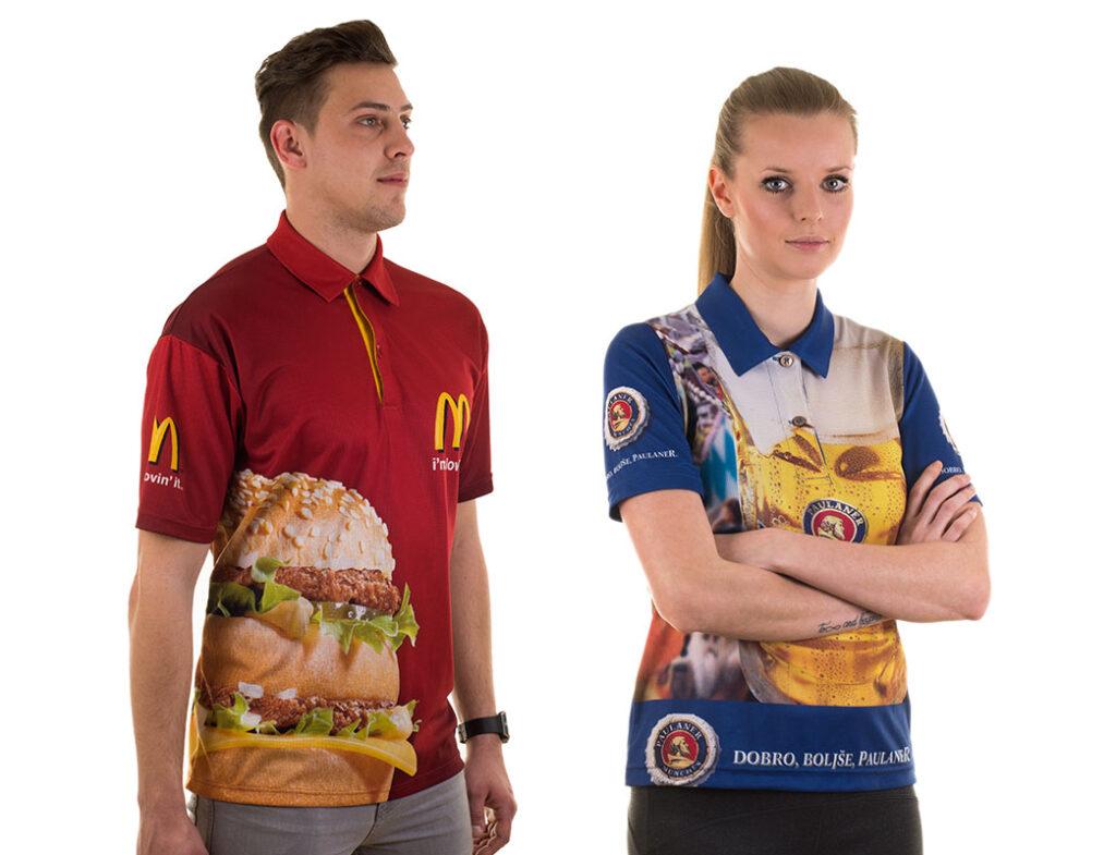 Ženska in moška polo majica