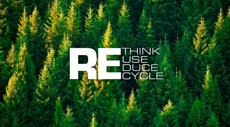 Rethink reuse reduce recycle