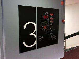 Usmerjevalne table označevanje prostorov kažipot