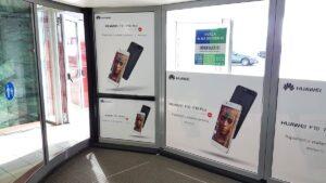 Nalepke za vrtljiva vrata Europark Huawei